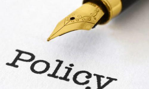 Policy Framework